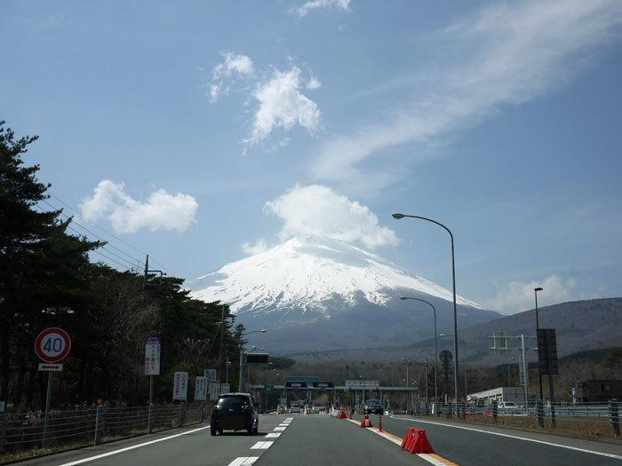 ペキニーズ Blog-白ペキニーズ シロのフォトブログ-2011.5.1.富士山
